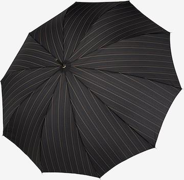 Doppler Regenschirm 'Carbonsteel' in Schwarz