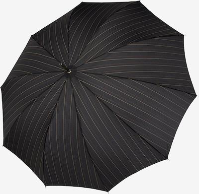 Doppler Parapluie 'Carbonsteel' en beige clair / rouge pastel / noir, Vue avec produit