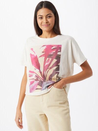 Bizance Paris T-Shirt 'Cherie' in creme / mischfarben, Modelansicht