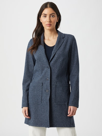 TOM TAILOR Преходно палто в базалтово синьо, Преглед на модела