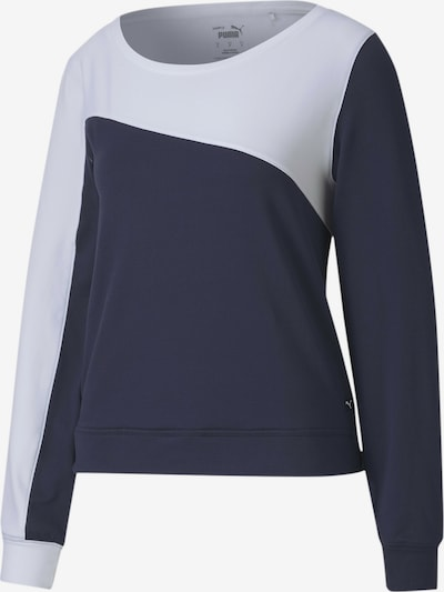 PUMA Sweatshirt in blau / weiß, Produktansicht