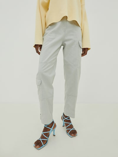 EDITED Cargo trousers 'Kaia' in grey, View model