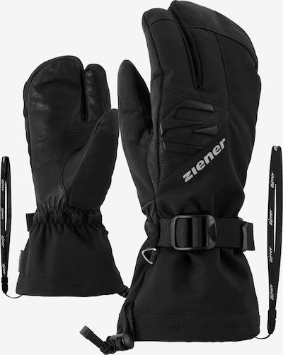 ZIENER Skihandschuhe 'GOFRIEDER AS(R) AW LOBSTER glove sk' in schwarz, Produktansicht