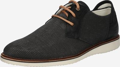 Pantofi cu șireturi ' 633K21019A ' BULLBOXER pe negru, Vizualizare produs