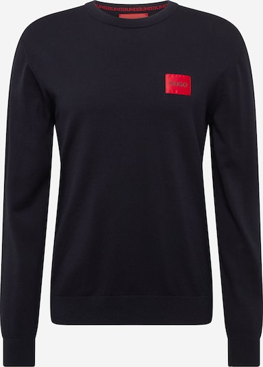 HUGO Pullover 'San Claudio' in schwarz, Produktansicht
