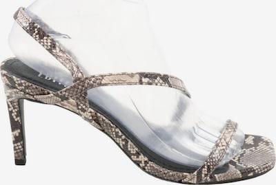 EDITED High Heel Sandaletten in 38 in hellgrau, Produktansicht
