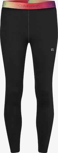 Calvin Klein Performance Pantalon de sport en mélange de couleurs / noir, Vue avec produit