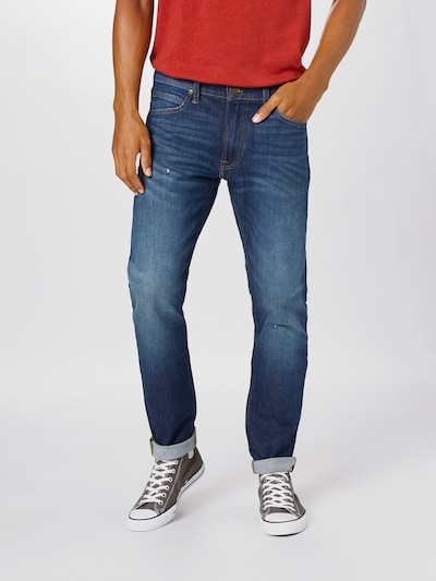 Lee Jeans 'Luke' i blue denim, Modelvisning