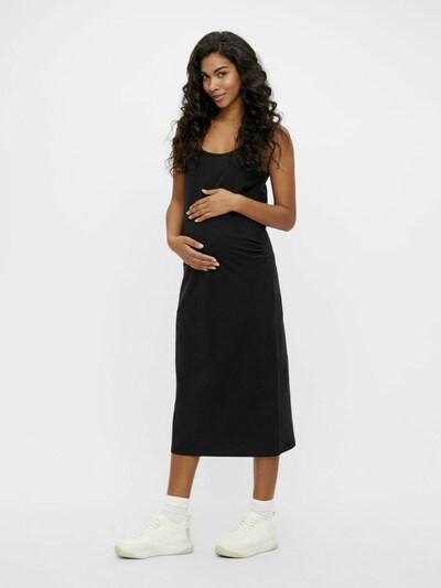 MAMALICIOUS Umstandskleid in schwarz, Modelansicht
