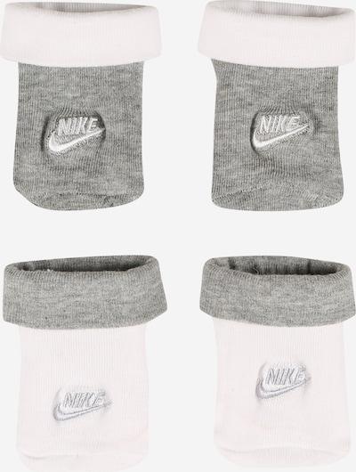 Șosete 'FUTURA' Nike Sportswear pe gri amestecat / alb, Vizualizare produs