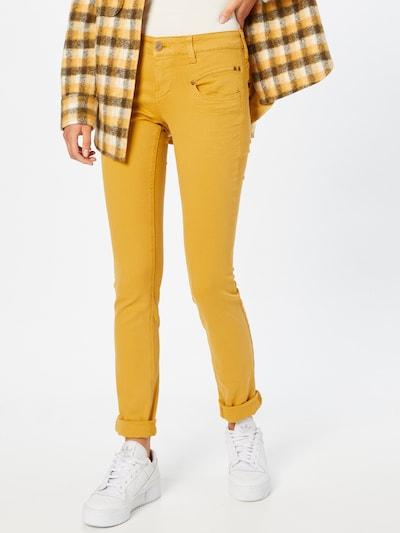 FREEMAN T. PORTER Hose 'Alexa' in gelb, Modelansicht