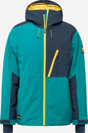 Sportinė striukė iš QUIKSILVER , spalva - nakties mėlyna / geltona / žalia, Prekių apžvalga
