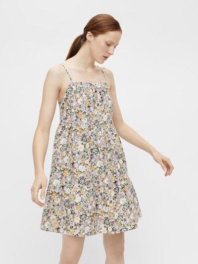 OBJECT Kleid 'Jasia' in mischfarben / puder, Modelansicht