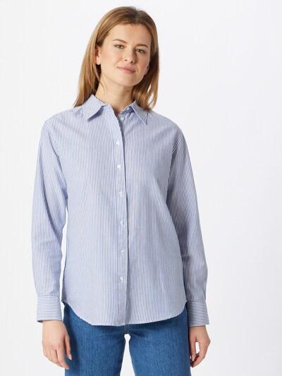 Gina Tricot Pusero 'Freya' värissä sininen / valkoinen, Mallinäkymä