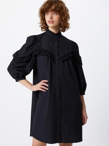 mbym Shirt Dress 'Umbria' in Black