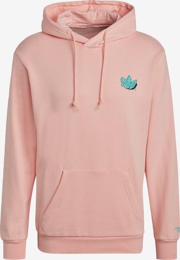 ADIDAS ORIGINALS Sweatshirt in grün / pink, Produktansicht