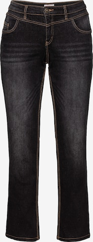 SHEEGO Jeans in Black