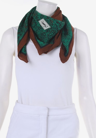 YVES SAINT LAURENT Scarf & Wrap in One size in Chocolate / Dark green, Item view
