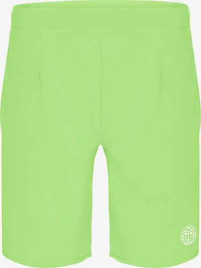 BIDI BADU Shorts Reece Tech aus atmungsaktivem Material in grün, Produktansicht