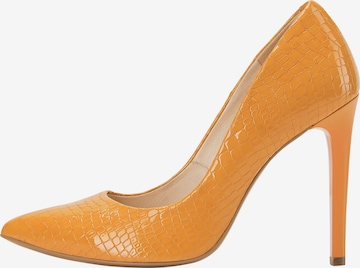 Escarpins faina en orange