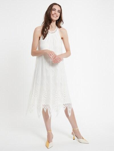 Ana Alcazar Kleid 'Cafis' in weiß, Modelansicht