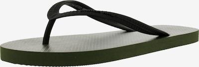 G-Star Footwear Teenslippers ' Dend II BSC ' in de kleur Kaki / Zwart, Productweergave