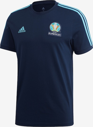 ADIDAS PERFORMANCE Shirt in blau / hellblau / dunkelblau, Produktansicht