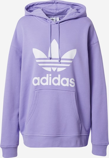 ADIDAS ORIGINALS Sweatshirt in de kleur Lichtlila / Wit, Productweergave