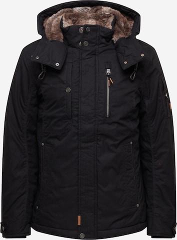 TOM TAILOR Between-season jacket in Black