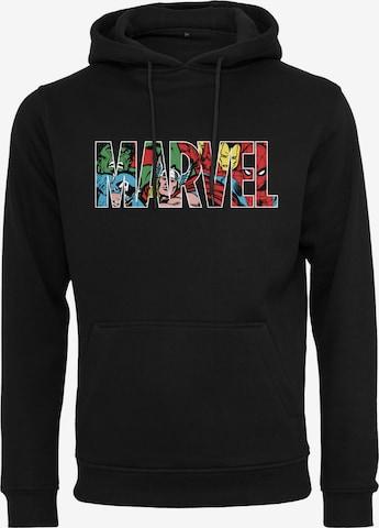 Mister Tee Sweatshirt 'Marvel' i svart
