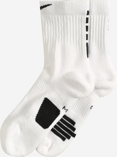 NIKE Sportovní ponožky - černá / bílá, Produkt