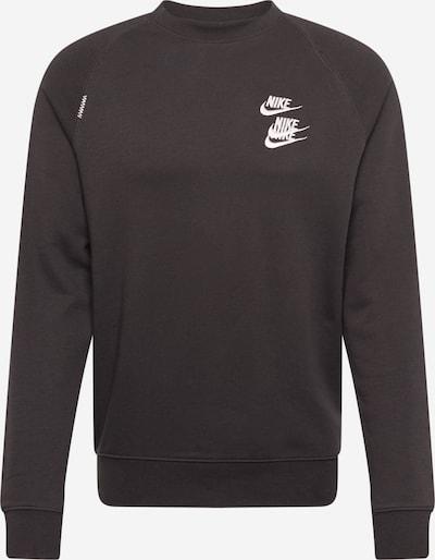 Nike Sportswear Sportska sweater majica u crna / bijela, Pregled proizvoda