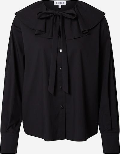 EDITED Bluse 'Angela' i sort, Produktvisning