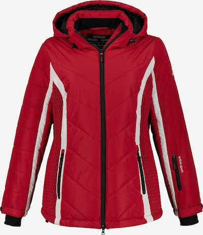 Ulla Popken Skijacke in rot, Produktansicht