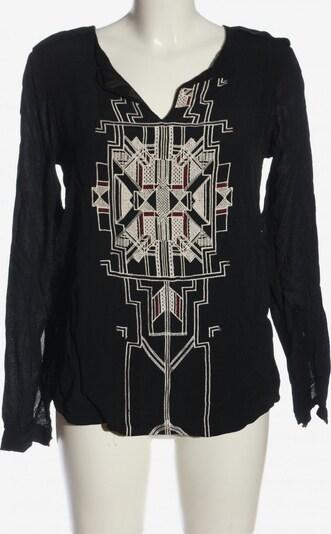 DAY Langarm-Bluse in XS in schwarz / weiß, Produktansicht