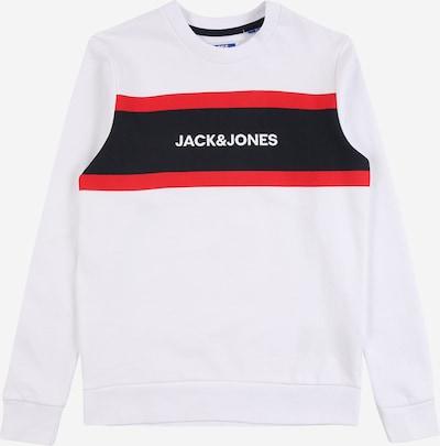 Jack & Jones Junior Sweatshirt 'SHAKE' in navy / rot / weiß, Produktansicht