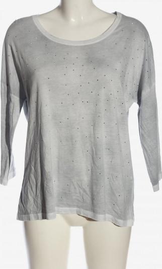 We love XOX Langarm-Bluse in M in hellgrau, Produktansicht
