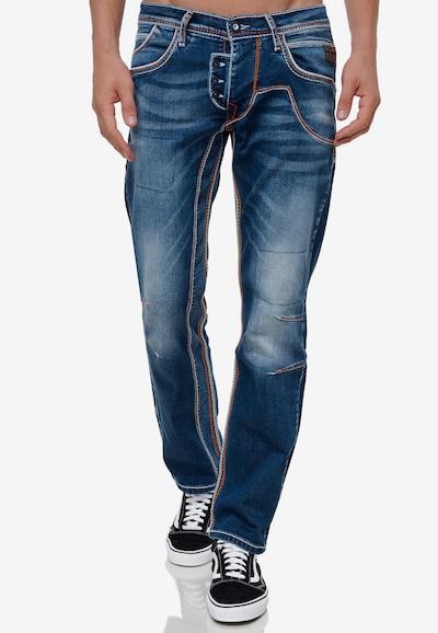 Rusty Neal Jeans 'RUBEN 43' in dunkelblau, Modelansicht