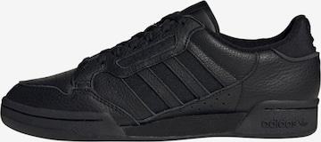 Baskets basses 'Continental 80' ADIDAS ORIGINALS en noir