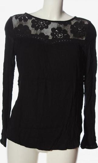 Buffalo London Langarm-Bluse in M in schwarz, Produktansicht