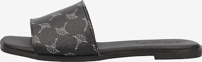 JOOP! Pantolette 'Merle' in hellgrau / schwarz, Produktansicht