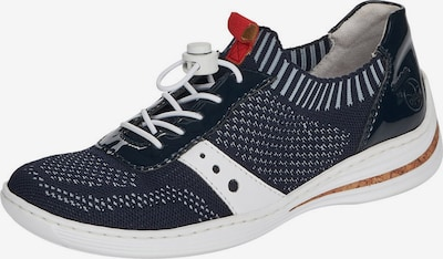 RIEKER Sneaker in navy / opal / weiß, Produktansicht