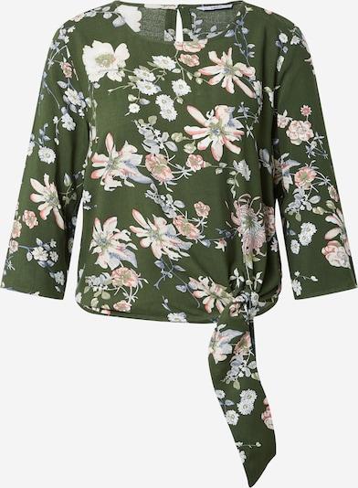 ONLY Bluse  'NOVA LIFE' in taubenblau / oliv / dunkelgrün / pink / weiß, Produktansicht