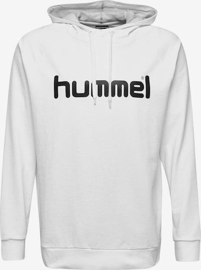 Hummel Sportsweatshirt in de kleur Zwart / Wit, Productweergave