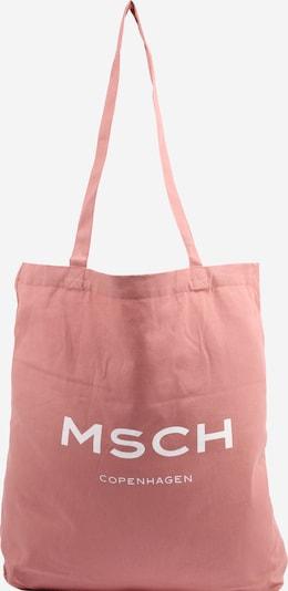 MOSS COPENHAGEN Shopper en rosa / blanco, Vista del producto