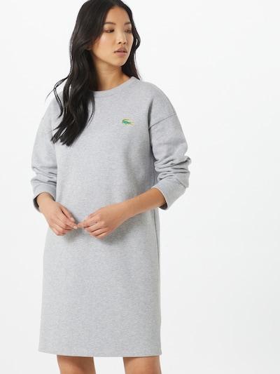 LACOSTE Robe-chemise en gris, Vue avec modèle