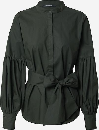 BRUUNS BAZAAR Blouse 'Rosie Alex' in de kleur Donkergroen, Productweergave