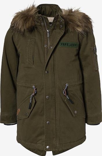 Pepe Jeans Winterjacke in dunkelbraun / khaki, Produktansicht