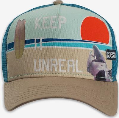 Coastal Cap in oliv / mischfarben, Produktansicht