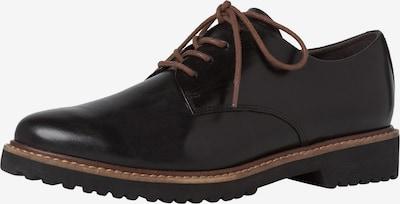 MARCO TOZZI Schnürschuh in braun / schwarz, Produktansicht